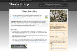 Thesis skin sharp