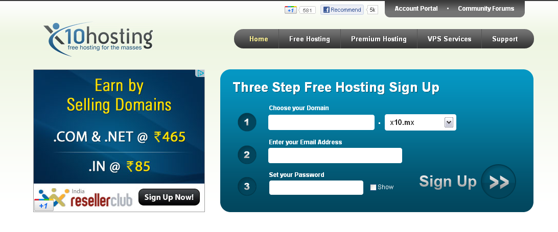 best free hosting provider