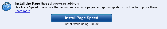 Test your site speed with Google official page speed test extensions for Chrome & firefox