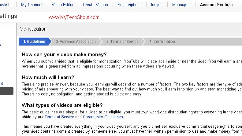 YouTube-adsense-integration
