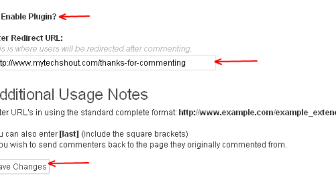 redirect-after-commenting