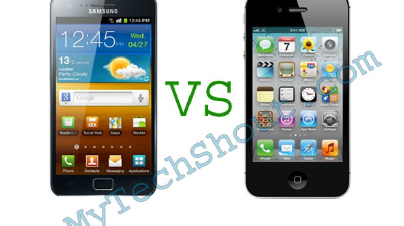Android vs iphone features
