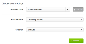 cloudflare settings,cloudflare