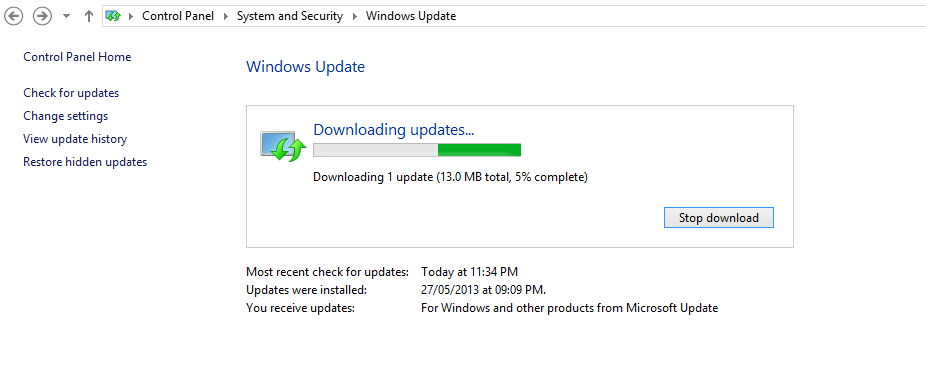 How to update windows 8 to windows 8.1 : The Definitive guide
