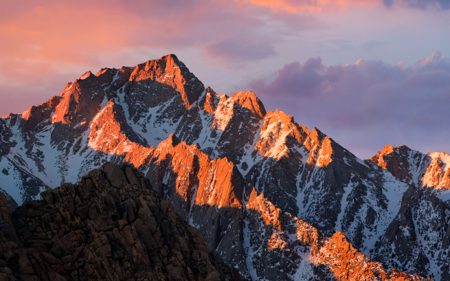 How to Get MacOS Sierra Wallpapers on OS X