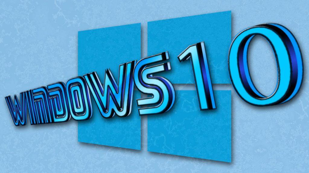window 10 logo wallpaer