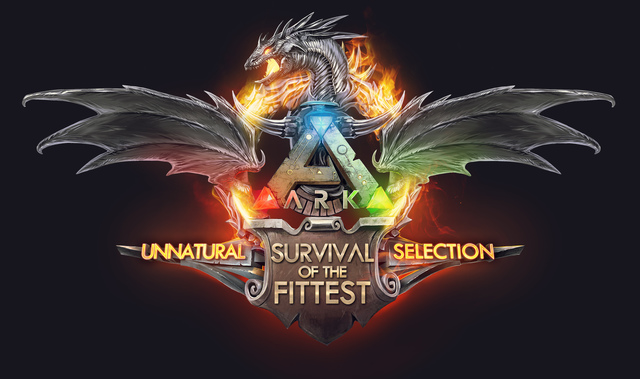 Ark Survival Evolved HD logo Wallpaper