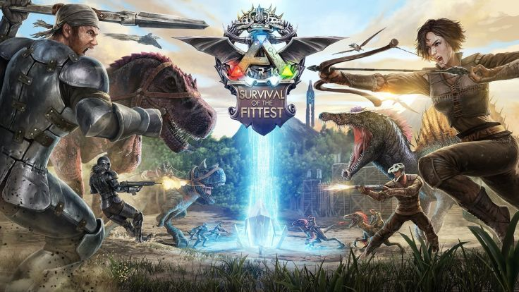 Ark Survival Evolved poster HD Wallpaper