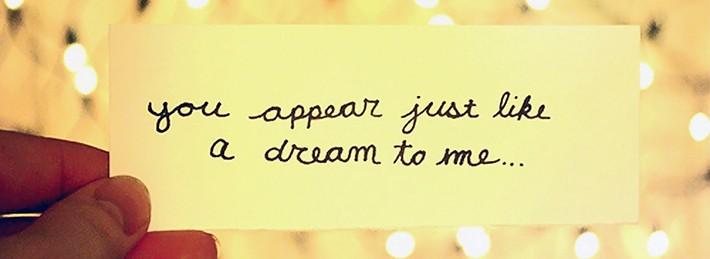 Dream Quotes FB Cover photo
