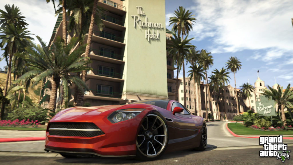 GTA 5 Game HD Desktop Wallpaper