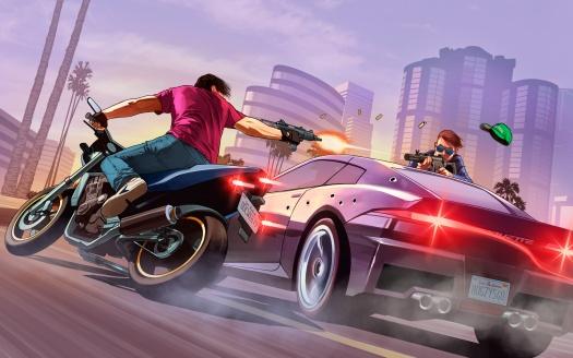 GTA 5 HD-Wallpaper