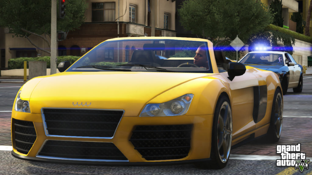 GTA-5 HD -Wallpaper