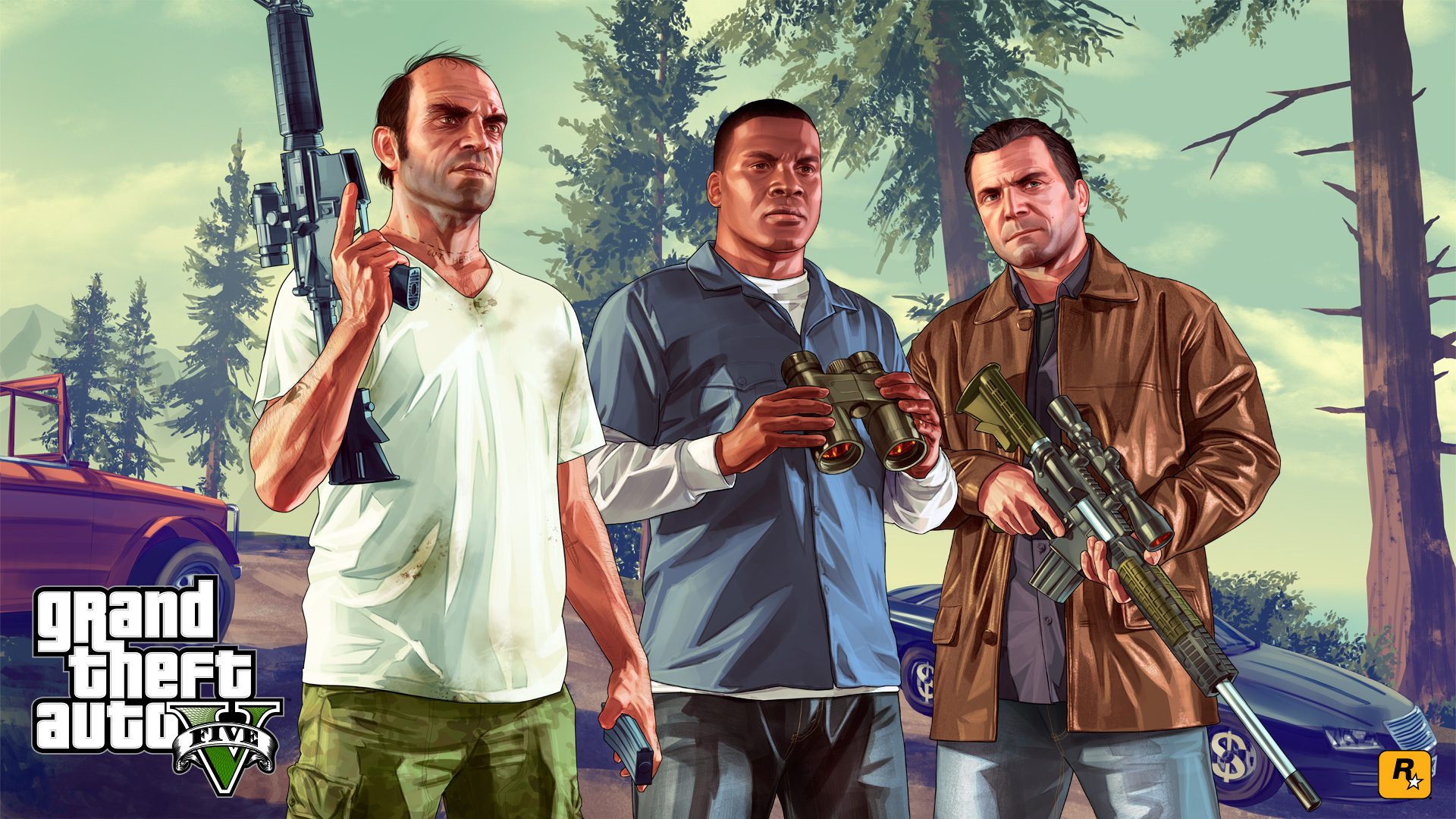 25 gta 5 hd wallpapers - mytechshout - blogging , technology , how to's