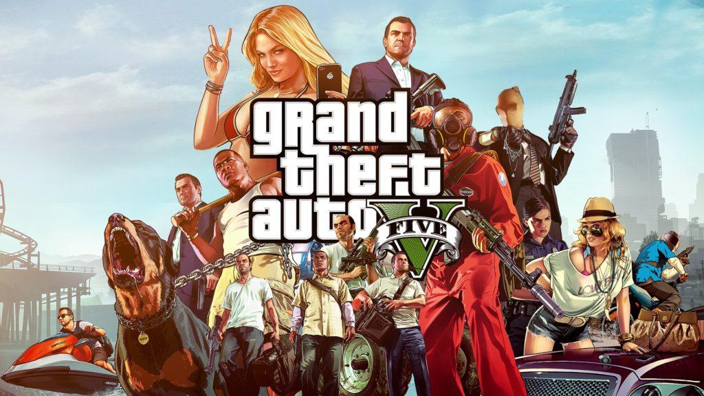 GTA 5 Video Game Wallapaper