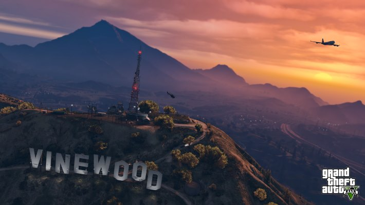 GTA 5 Vinewood HD Wallpaper