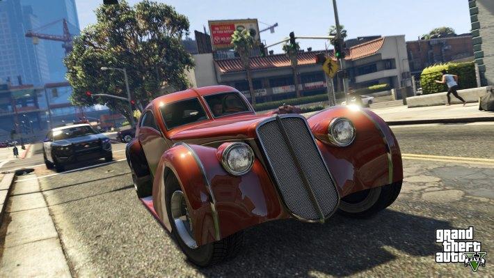 Grand Theft Auto -5 HD Wallpaper