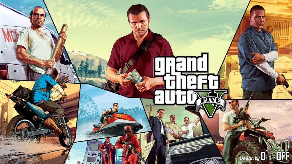 Heros of GTA 5 HD Wallpaper