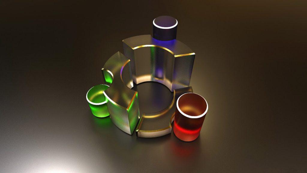 Logo-Metal-Ubuntu-Linux-1080p-HD-Wallpapers