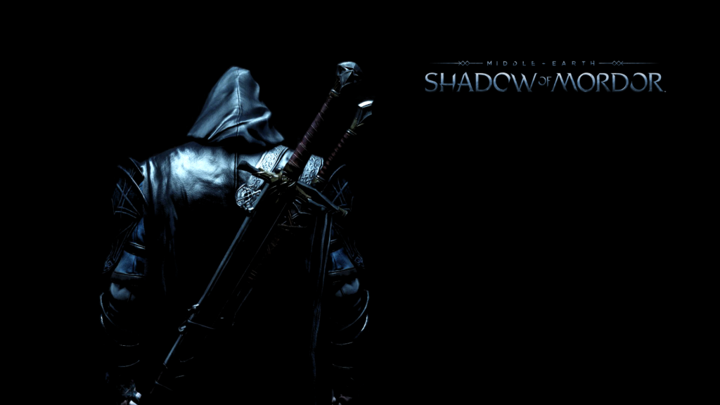 Shadow Of Mordor Black HD Wallpaper