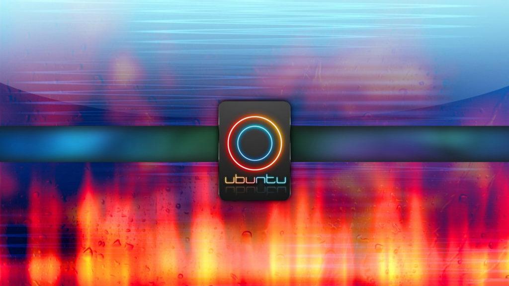 Ubuntu Logo Custom Desktop Wallpaper