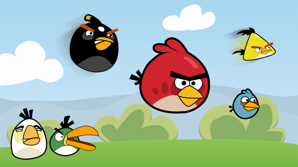 HD angry birds wallpaper
