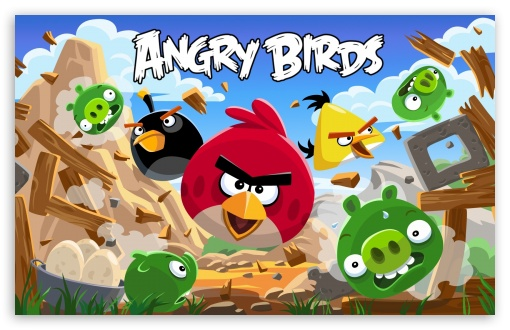 angry birds HD desktop wallpaper