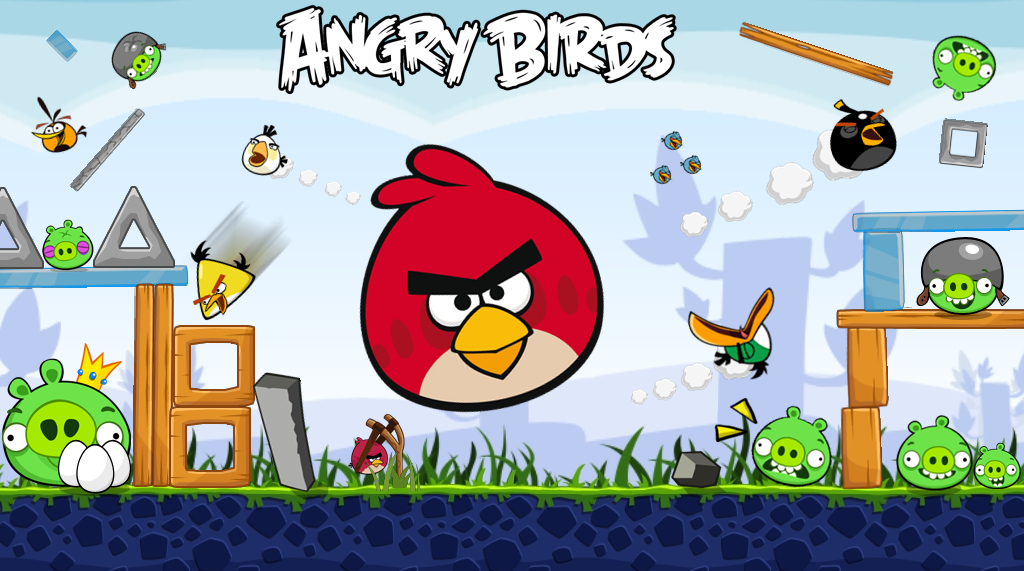 Angry Birds HD Wallpaper