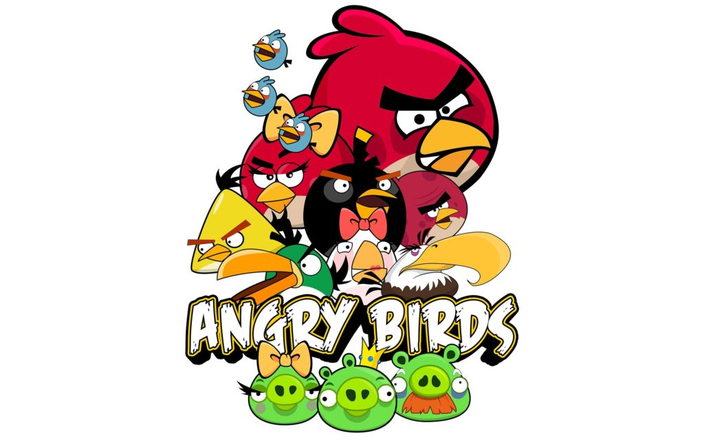 angry birds HD wallpaper desktop